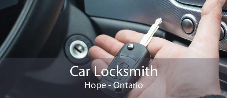 Car Locksmith Hope - Ontario