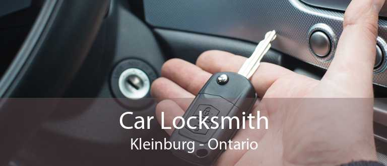 Car Locksmith Kleinburg - Ontario