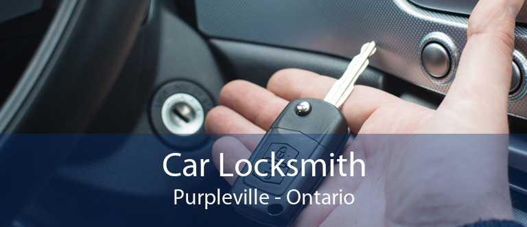 Car Locksmith Purpleville - Ontario