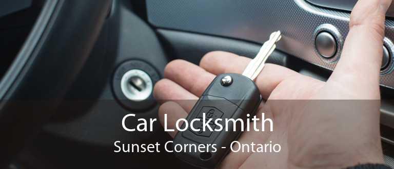 Car Locksmith Sunset Corners - Ontario