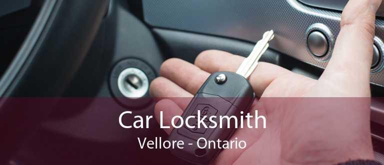 Car Locksmith Vellore - Ontario