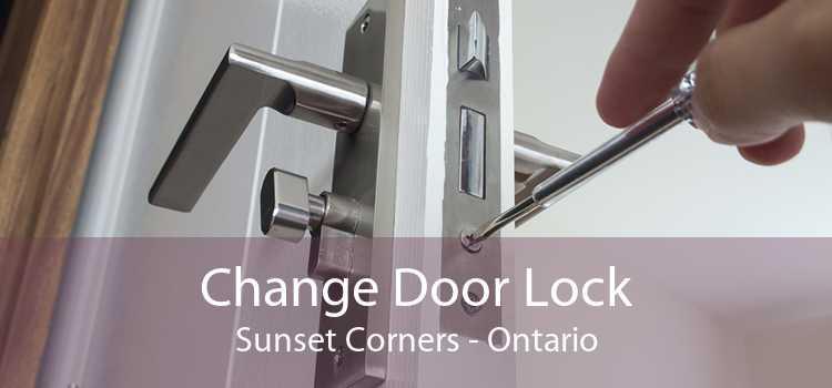Change Door Lock Sunset Corners - Ontario