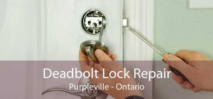 Deadbolt Lock Repair Purpleville - Ontario
