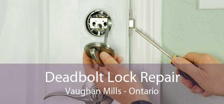 Deadbolt Lock Repair Vaughan Mills - Ontario