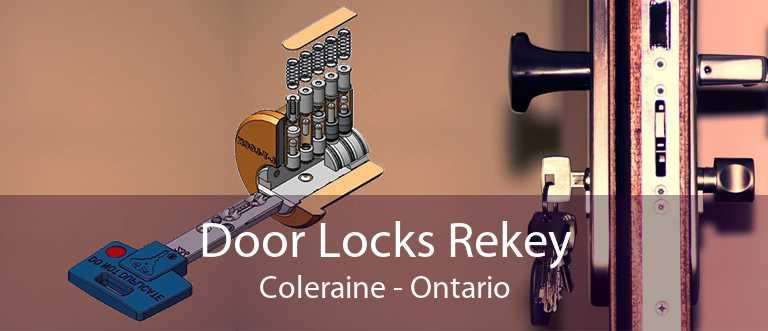 Door Locks Rekey Coleraine - Ontario
