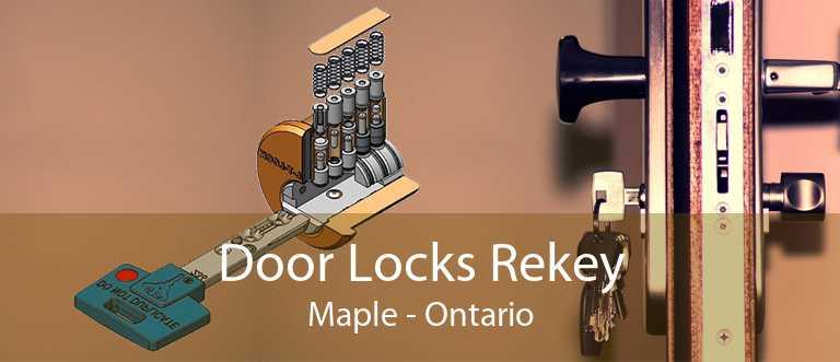 Door Locks Rekey Maple - Ontario