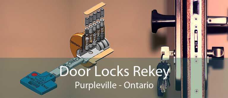 Door Locks Rekey Purpleville - Ontario