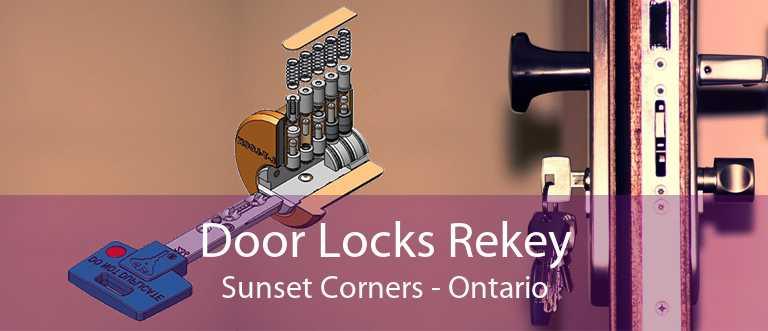 Door Locks Rekey Sunset Corners - Ontario
