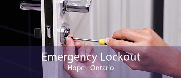 Emergency Lockout Hope - Ontario