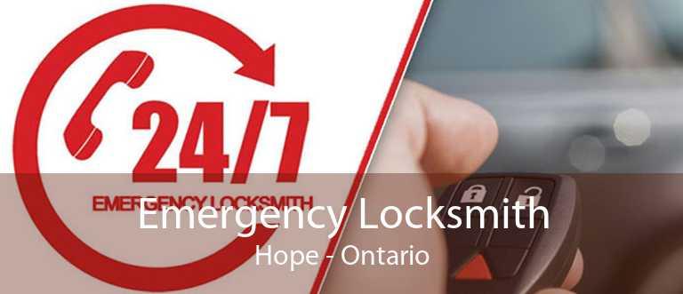 Emergency Locksmith Hope - Ontario
