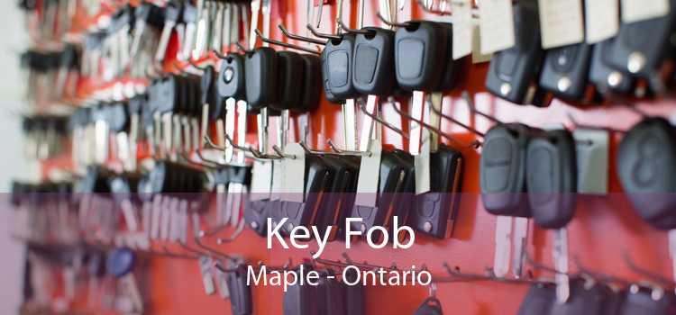 Key Fob Maple - Ontario