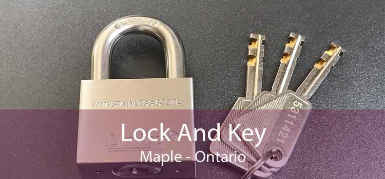 Lock And Key Maple - Ontario