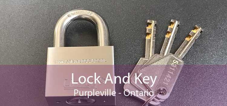 Lock And Key Purpleville - Ontario