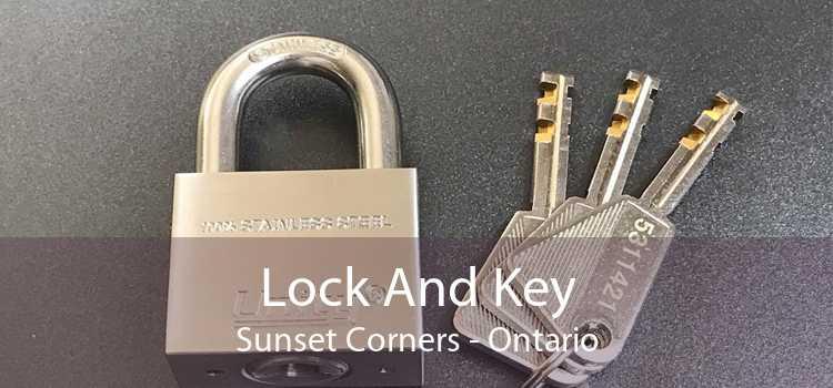 Lock And Key Sunset Corners - Ontario