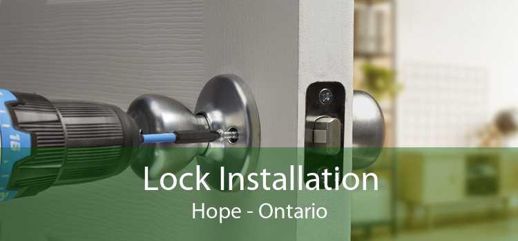 Lock Installation Hope - Ontario