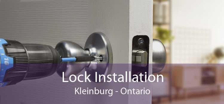 Lock Installation Kleinburg - Ontario