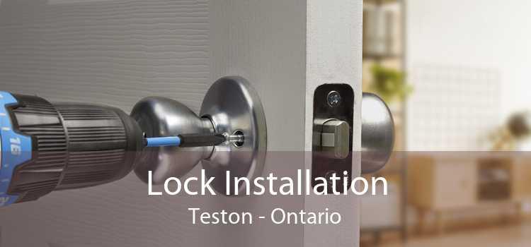 Lock Installation Teston - Ontario