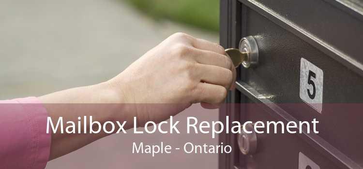 Mailbox Lock Replacement Maple - Ontario