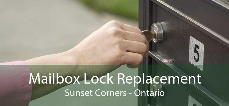 Mailbox Lock Replacement Sunset Corners - Ontario