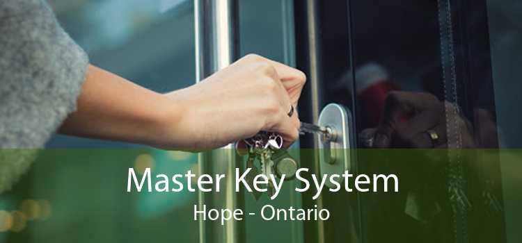 Master Key System Hope - Ontario