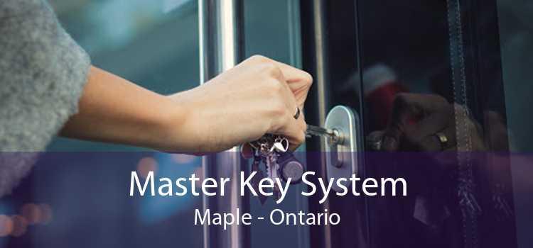 Master Key System Maple - Ontario