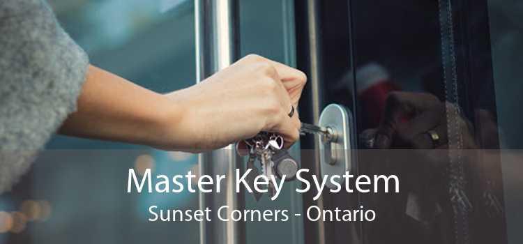 Master Key System Sunset Corners - Ontario