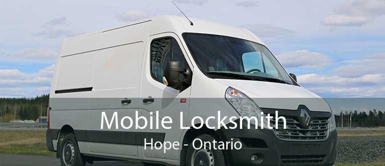 Mobile Locksmith Hope - Ontario