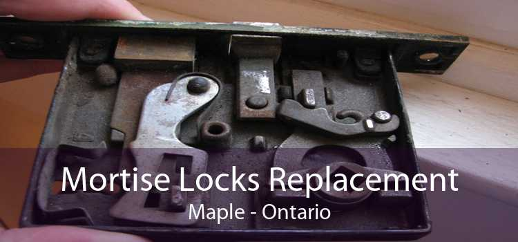 Mortise Locks Replacement Maple - Ontario