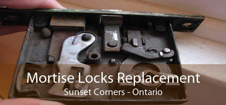 Mortise Locks Replacement Sunset Corners - Ontario