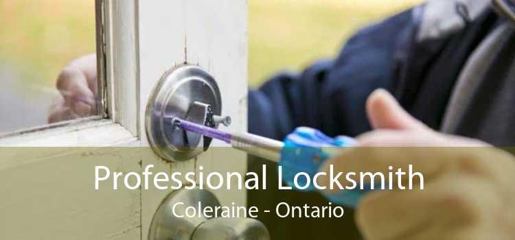 Professional Locksmith Coleraine - Ontario