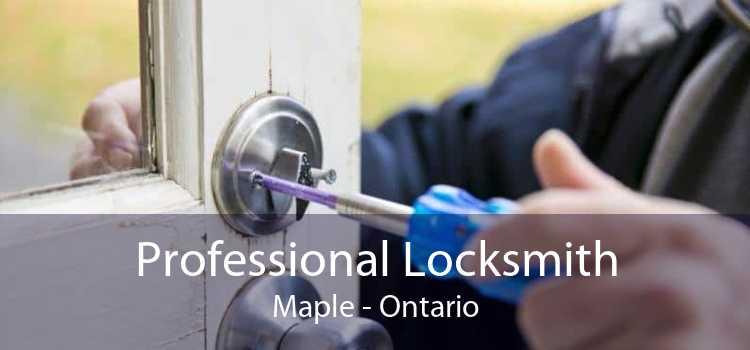Professional Locksmith Maple - Ontario