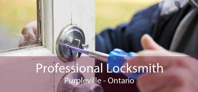 Professional Locksmith Purpleville - Ontario