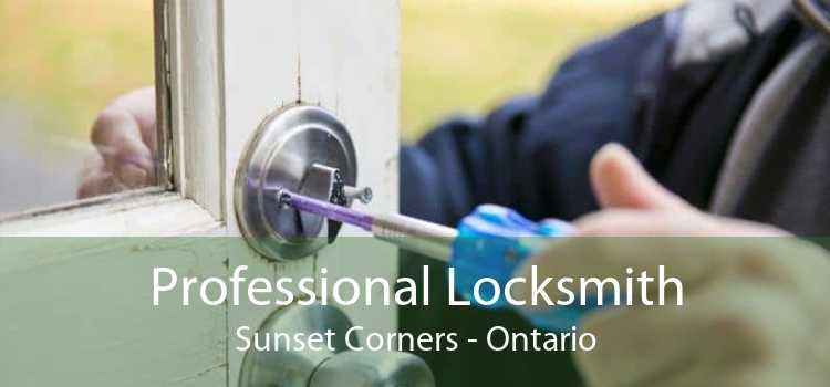 Professional Locksmith Sunset Corners - Ontario